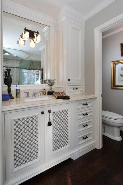 Traditional Bathroom Eclectic Bathroom