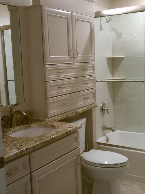inspiration for an eclectic bathroom remodel in tampa - Over The Toilet Storage Cabinet