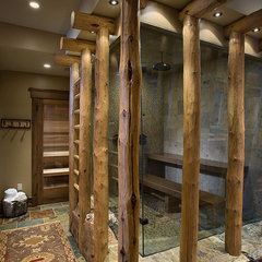 eclectic bathroom by Design Associates - Lynette Zambon, Carol Merica