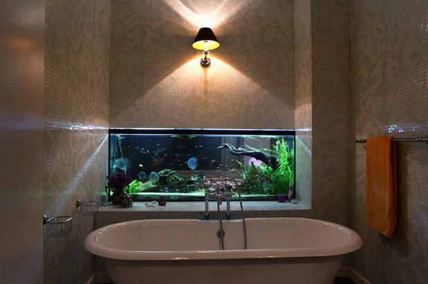 Éclectique Salle de Bain Eclectic Bathroom