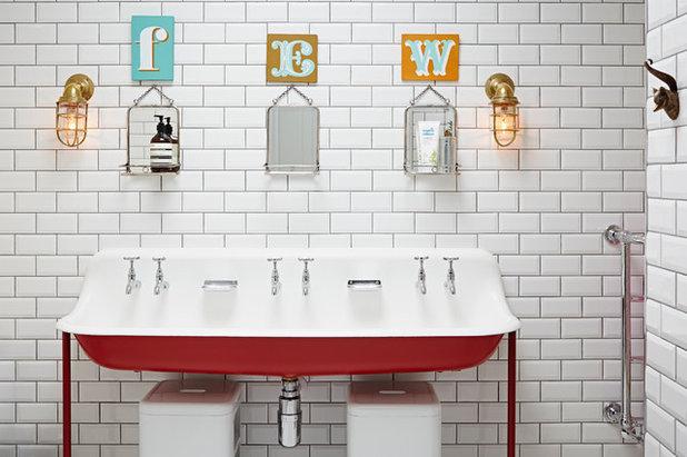 Eklektisch Badezimmer by Godrich Interiors