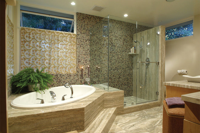 Eclectic Bathroom by HartmanBaldwin Design/Build