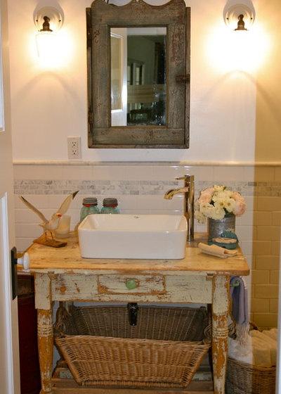 Salle de bain style campagne id es sur le th me salles de - Salle de bain style campagne ...