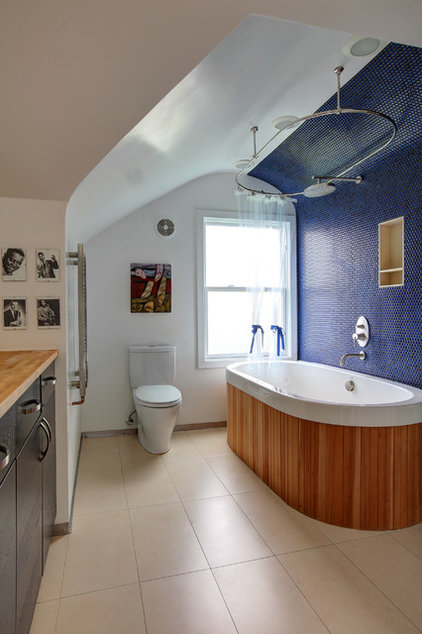 contemporary bathroom by Papazian R.A.
