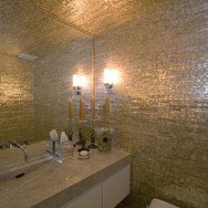 Eclectic Bathroom by Kari McIntosh Design