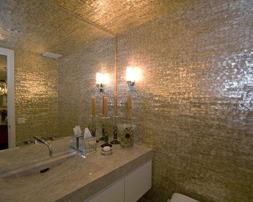 Best eclectic mother of pearl bathroom design ideas remodel pictures houzz - Eclectic bathroom ...