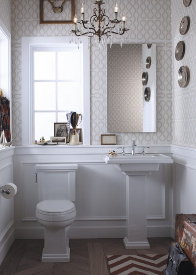 How To Mix Metal Finishes In The Bathroom