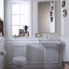 Traditional Bathroom Eclectic Bathroom