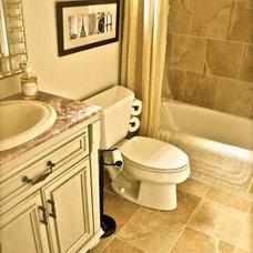 Eclectic Bathroom by Rachel Greathouse