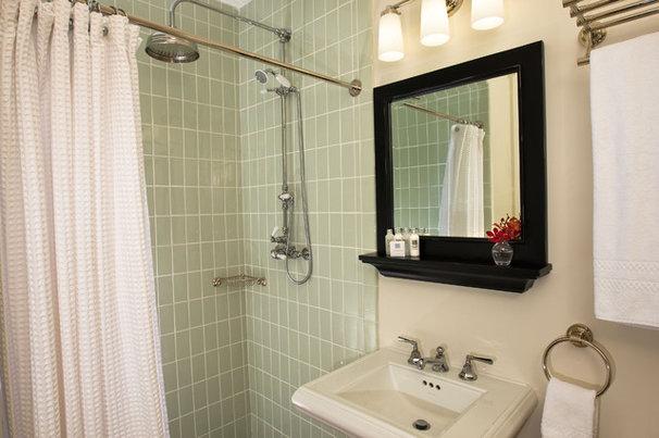 Eclectic Bathroom by Rachel Reider Interiors