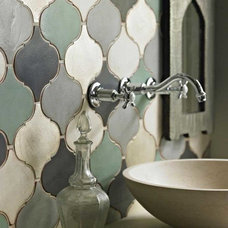 Eclectic Bathroom by Statements Tile