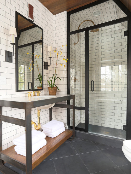 Bathroom Remodels With Subway Tile bathroom with subway tile ideas, designs & remodel photos | houzz