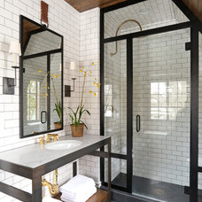 Transitional Bathroom Eclectic Bathroom