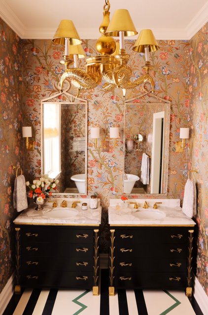 Eclectic Bathroom Eclectic Bathroom