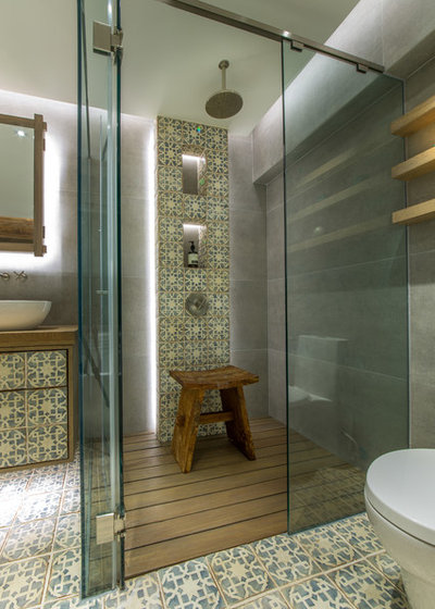 Contemporain Salle de Bain by Liquid Interiors Limited