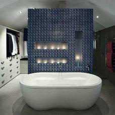 Contemporary Bathroom by LA Signature Home Interiors