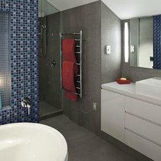 Eclectic Bathroom by LA Signature Home Interiors