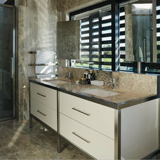 Eclectic Bathroom by LA Signature Home Interiors
