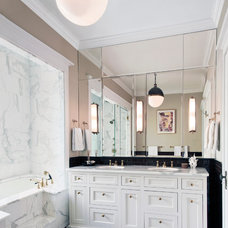 Traditional Bathroom by Randall Architects
