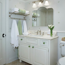 Eclectic Bathroom by Cottage Company Interiors