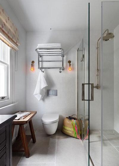 Transitional Bathroom by Studio Duggan Ltd
