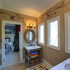 eclectic bathroom by Eclectic Interiors
