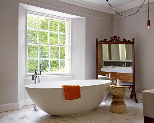 asiatische badezimmer mit bodengleicher dusche ideen beispiele f r die badgestaltung houzz. Black Bedroom Furniture Sets. Home Design Ideas