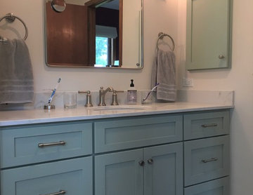 Eclectic Master Bath