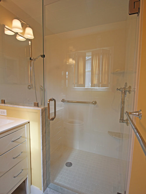 Eclectic master bath grosse pointe farms - Eclectic bathroom ...