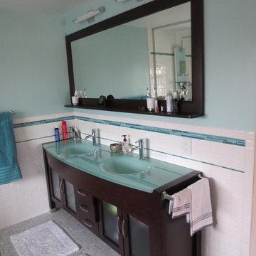 Eclectic Master Bathroom Remodel