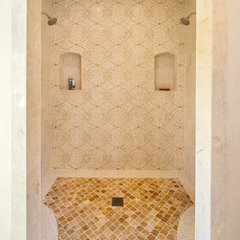 mediterranean bathroom by Keeping Interiors