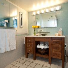 Eclectic Bathroom by One Week Bath, Inc.