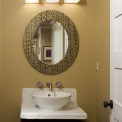 contemporary bathroom by Margeaux Interiors Inc. - Margaret Presti