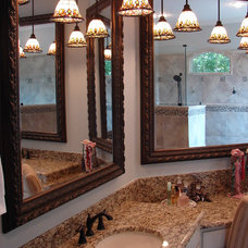 Eclectic Bathroom by Dallas Renovation Group
