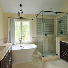 eclectic bathroom by Cynthia Karegeannes, Registered Architect