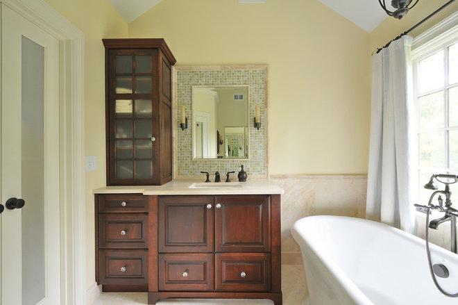 Traditional Bathroom by Cynthia Karegeannes, Registered Architect