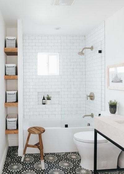 Современный Ванная комната by Katie Monkhouse Interior Design