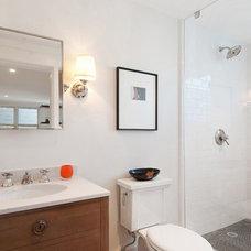 Contemporary Bathroom by Eco+Historical, Inc.