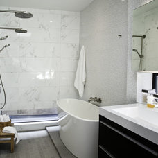 modern bathroom by Three Legged Pig Design
