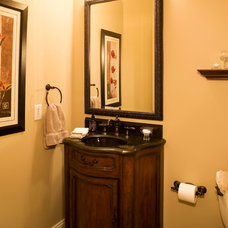Traditional Bathroom by DURST & GANS BUILDING CORP
