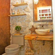 Eclectic Bathroom by HP Builders, Inc