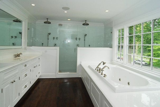 Traditional Bathroom by Oasis Architecture