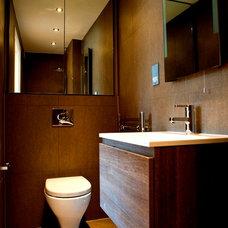 Modern Bathroom by Madigan Browne