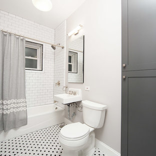 Edgewater Chicago Two Bathrooms Remodel Project