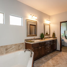 Modern Bathroom by Robl Construction Inc.