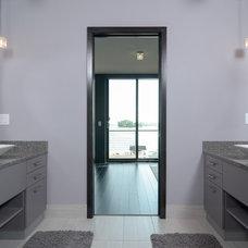 Contemporary Bathroom by Rosenow | Peterson Design