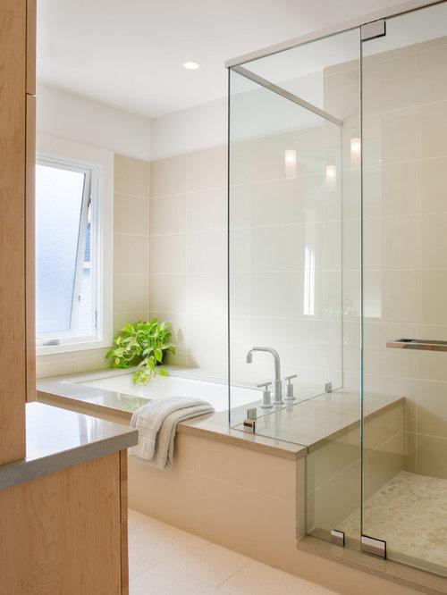 badezimmer mit eckbadewanne und duschnische ideen f r. Black Bedroom Furniture Sets. Home Design Ideas