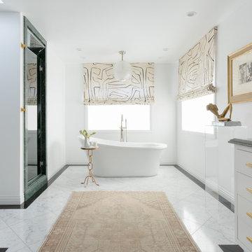 Edgy Modern Master Suite- Northridge, California