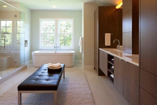 Fresh Contemporary Bathroom by Elevation