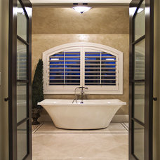 Modern Bathroom by Schrader & Companies